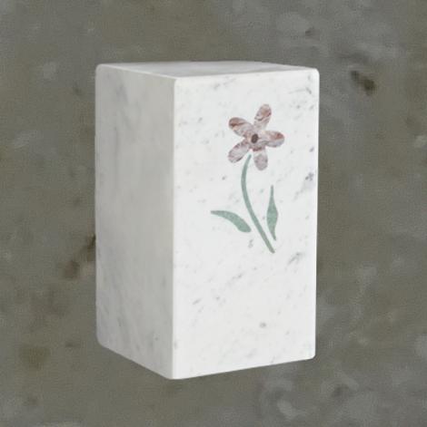 Délicate fleur - Bianco carrara