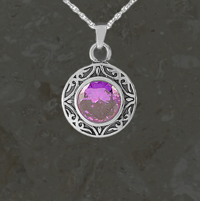 Keepsake jewelry - Amethyst - Silver