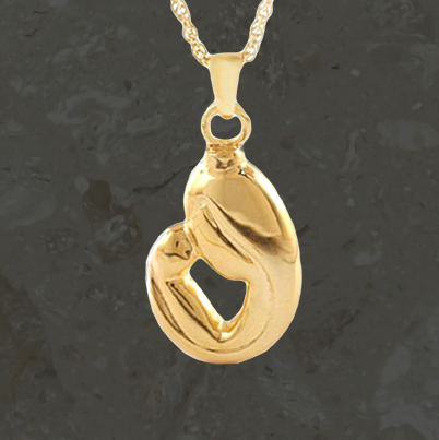 Keepsake jewelry -Parent's love - Gold