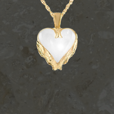 Keepsake jewelry - Angel wings