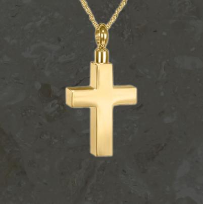 Bijoux reliquaires – Croix simple – Or
