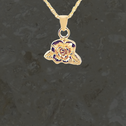 Keepsake jewelry – Rose – Gold