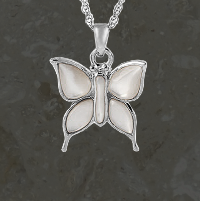 Keepsake jewelry - Butterfly - Silver