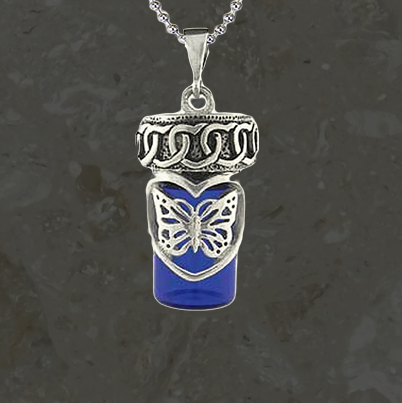 Keepsake jewelry - Stylized butterfly