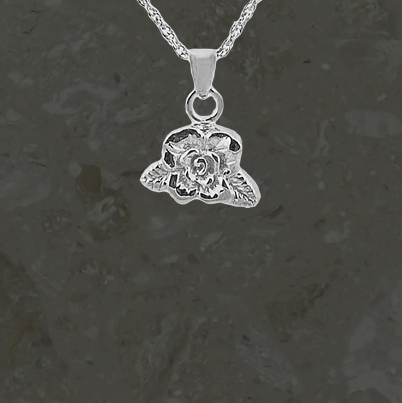 Keepsake jewelry - Rose - Silver