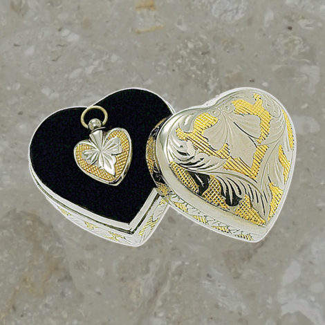Keepsake jewelry - Treasure - Silver and gold