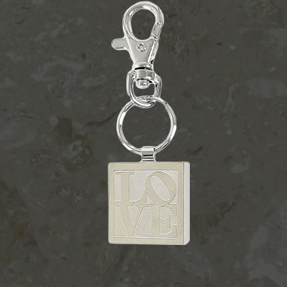 Keepsake jewelry - Love - Key chain - Stainless steel