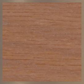 Matière : Chêne teint Chocolat Pâle #98