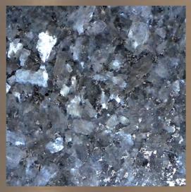 Pierre de granite : Bleu Perle #27
