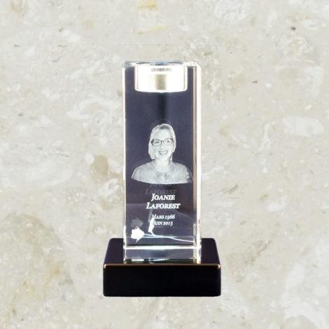 Lampion de cristal 5,91 po - 3D