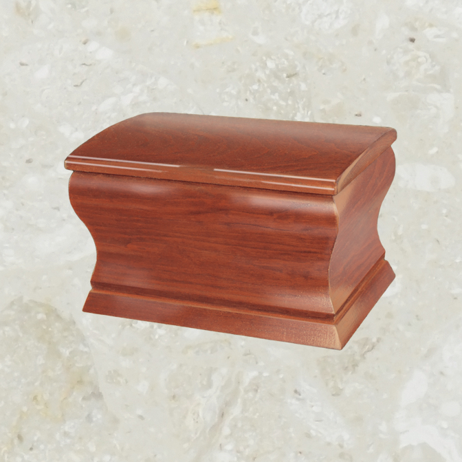 Coffer – Mahogany cherry wood