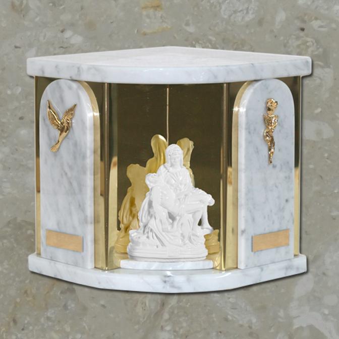 Ravenne Pieta – Bianco carrara – Double