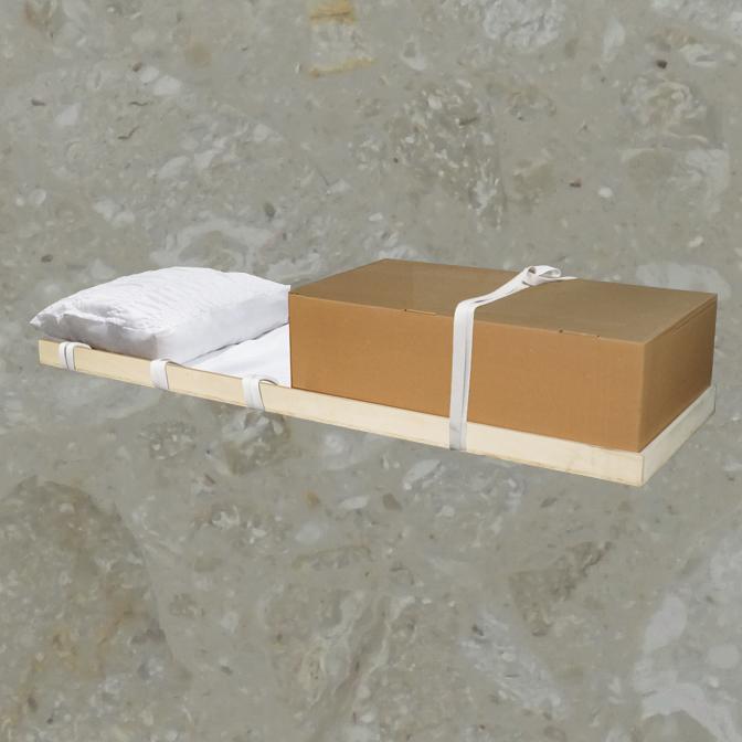 Contenant pour les cercueils de location en acier – Shelby