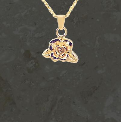 Bijoux reliquaires – Rose – Or