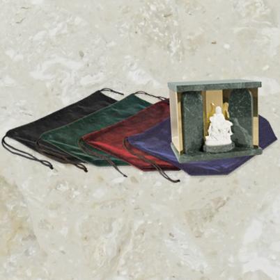 Pochette de velours – pour urnes – extra large – sans logo
