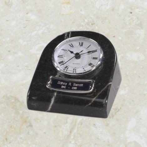 Horloge - Reliquaire - Marbre grain noir