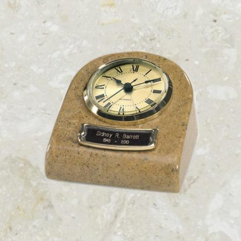 Horloge - Reliquaire - Marbre aux tons de terre