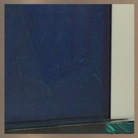 Matière : Verre Bleu