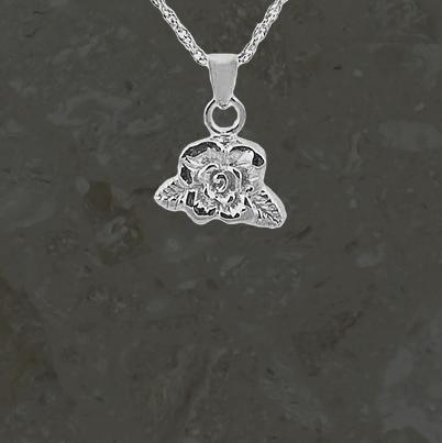 Bijoux reliquaires – Rose – Argent