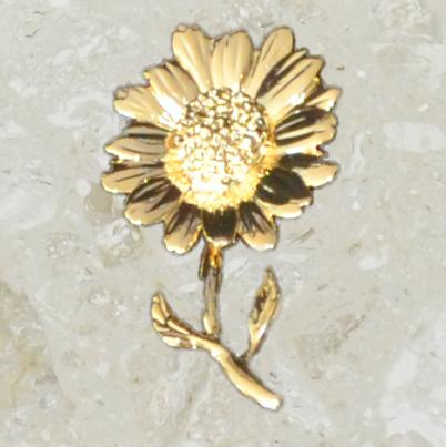 Ornement d'urne – Marguerite – Or