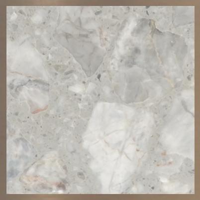 Aggloméré de marbre : Fior De Pasco #10