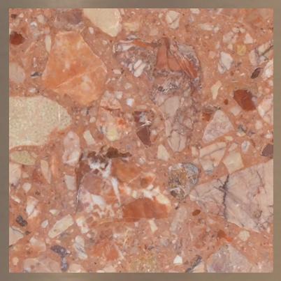 Aggloméré de marbre : Breccia Pernice #12