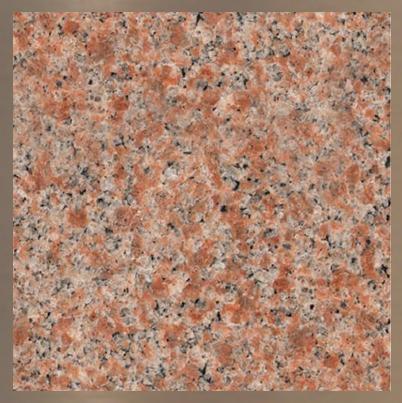 Pierre de granite : Vermillon #21