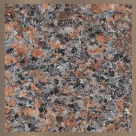 Pierre de granite : Dakota Mahogany #22