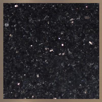 Pierre de granite : Noir Galaxie #40