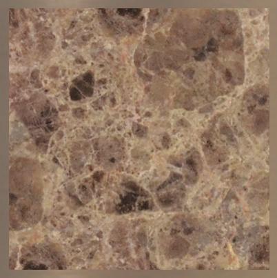 Pierre de marbre : Brun Emperador #06