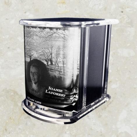 Urne de cristal - 3D